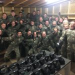 Grote groep paintball