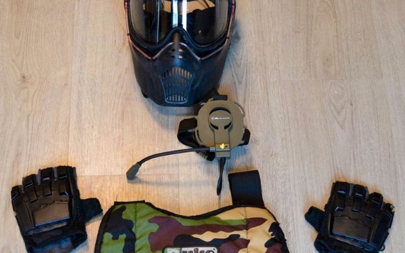 Uitrusting paintball