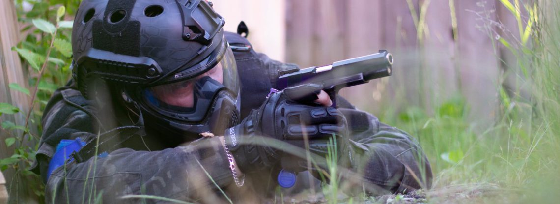 Airsoft of painball actie in Leeuwarden